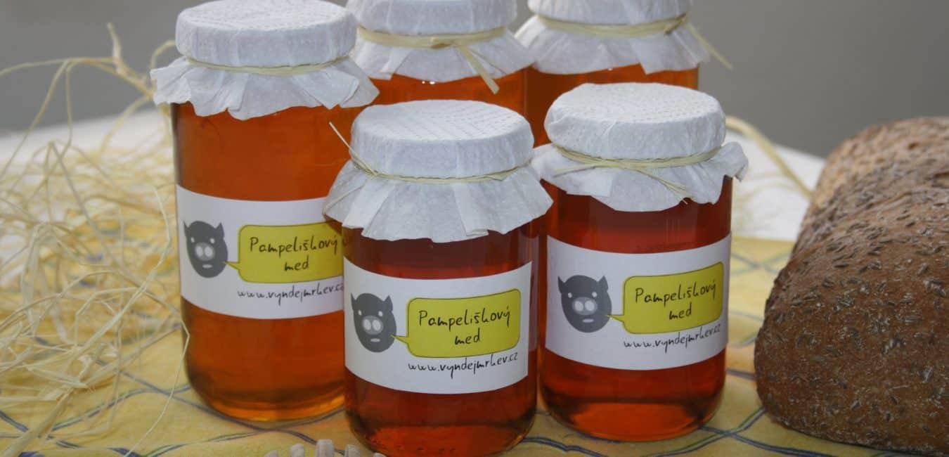 Pampeliškový med s citronem