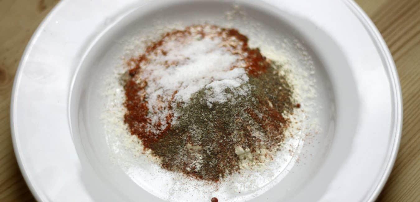Pečená cizrna v kořeněné krustičce