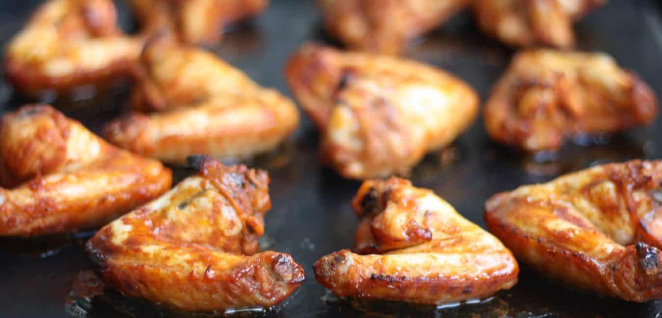 Kuřecí křídla s medovou marinádou