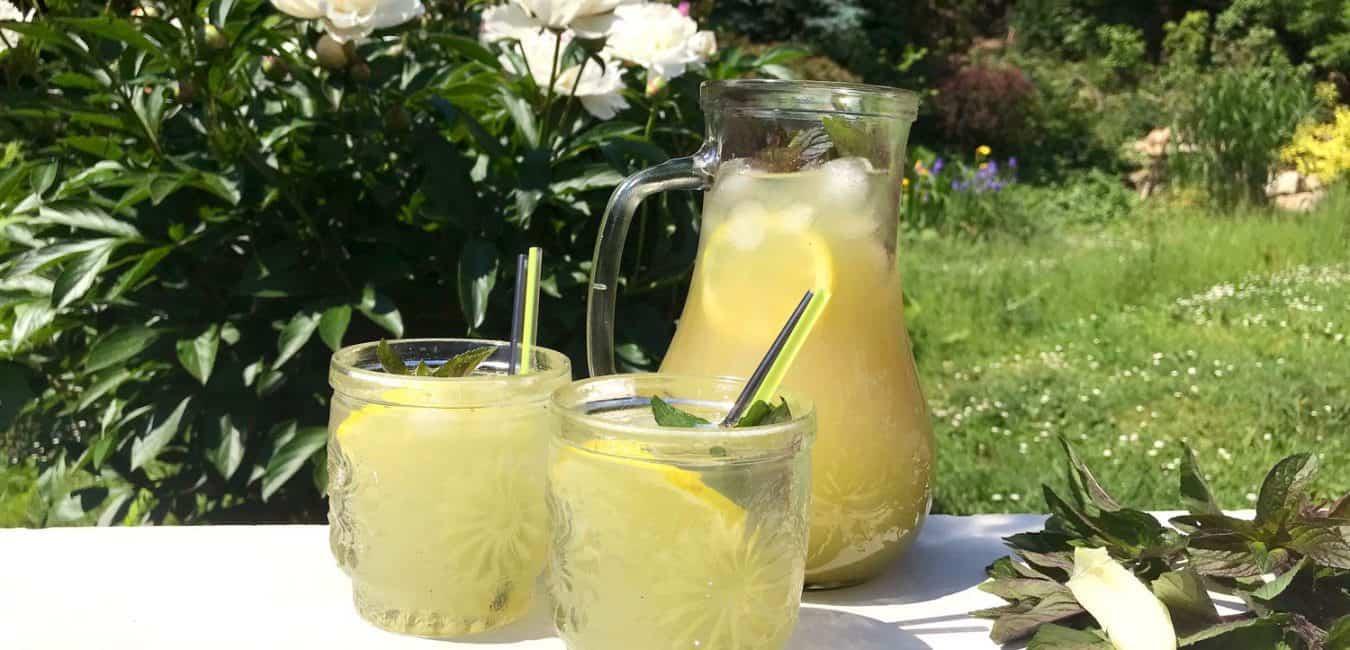 Citronovo-mátová limonáda