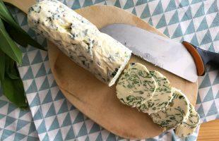 Bylinkové máslo (z medvědího česneku)