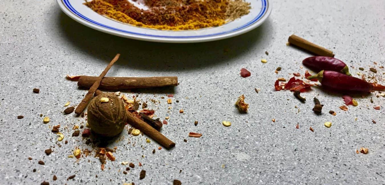 Etiopská směs koření Berbere pro africkou kuchyni