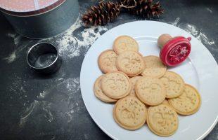Vánoční máslové sušenky s perníkovým kořením