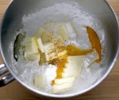 Velikonoční matcha a vanilkové sušenky