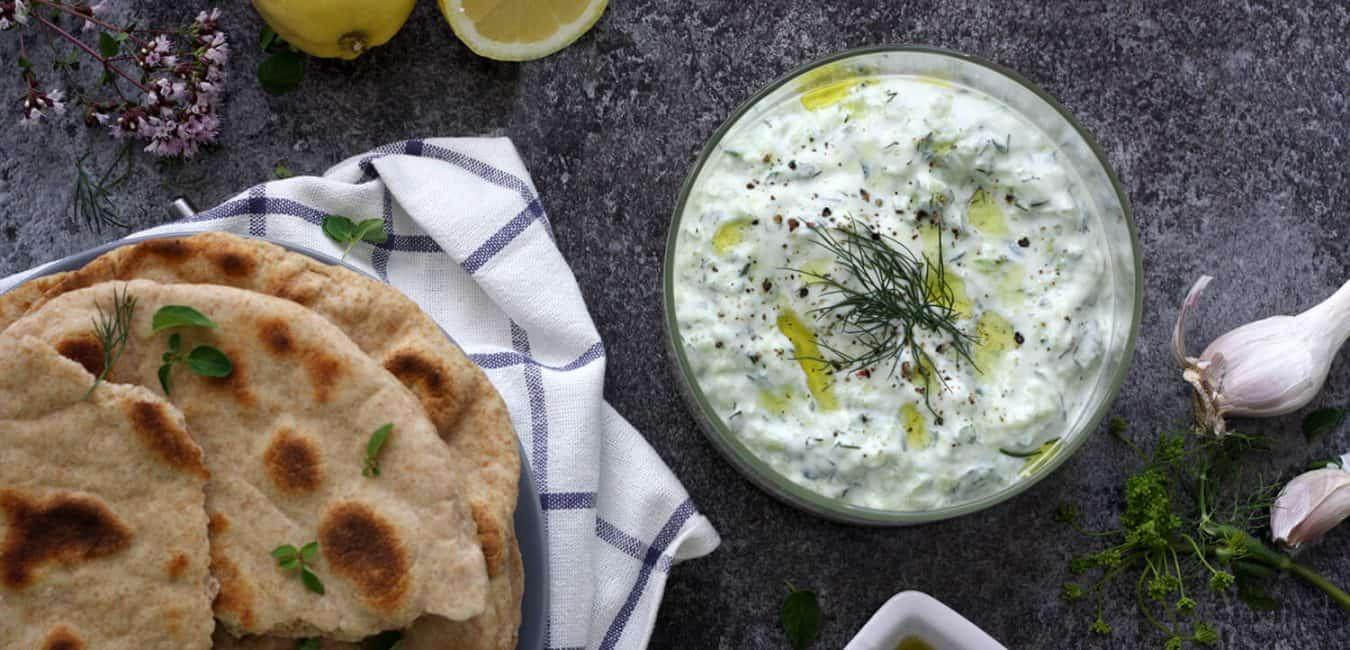Tradiční řecké tzatziky